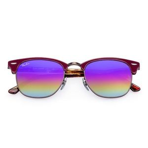 Ray-Ban | Gradient Red Clubmasters.